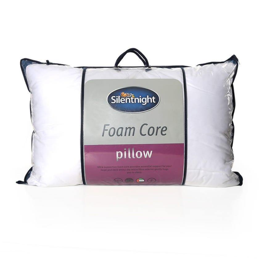Silentnight Luxury Soft Foam Microfiber Pillow, White - 74x48 cms
