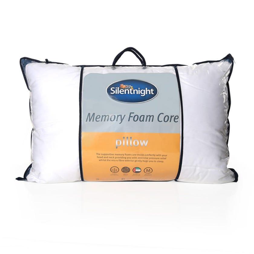 Silentnight Luxury Memory Foam Pillow, White - 74x48 cms