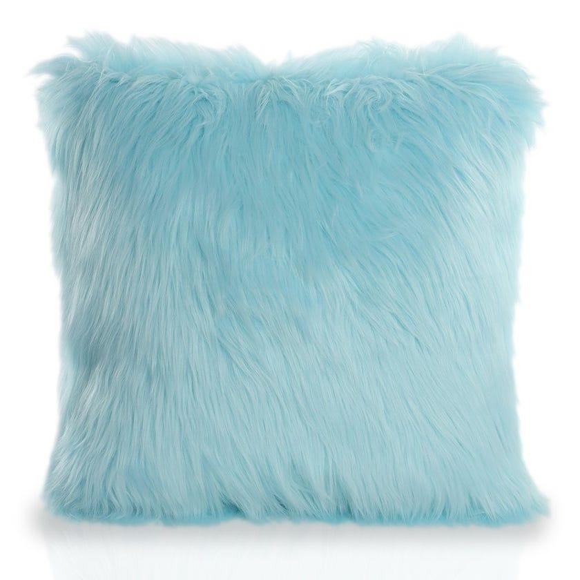 KD Cushion Cover, Blue - 40 x 40 cms