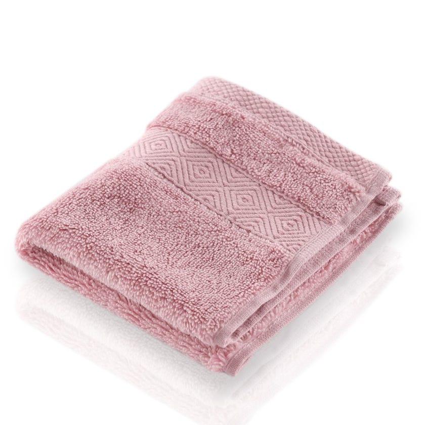 Vienna Zero Twist Face Towel, Mauve - 30x30 cms