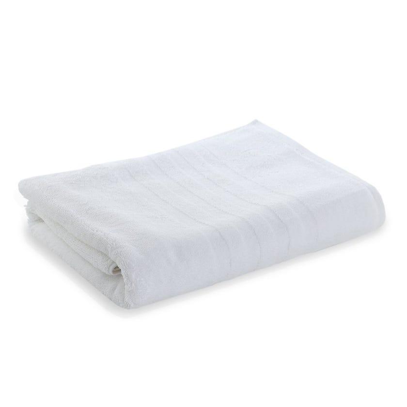 Lauren Egyptian Cotton Bath Sheet, White - 85 x 155 cms