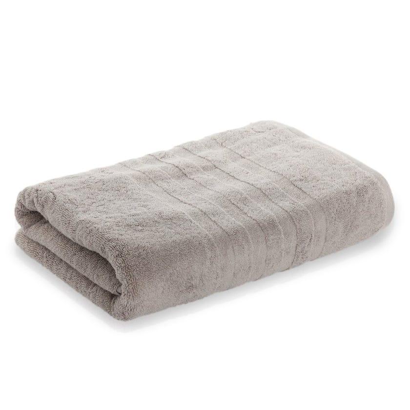Lauren Egyptian Cotton Bath Sheet, Grey - 85 x 155 cms