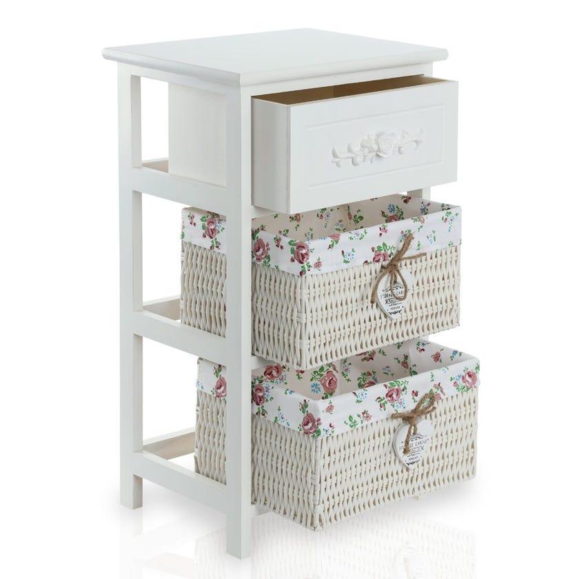 Rosea 3-Drawer Cabinet