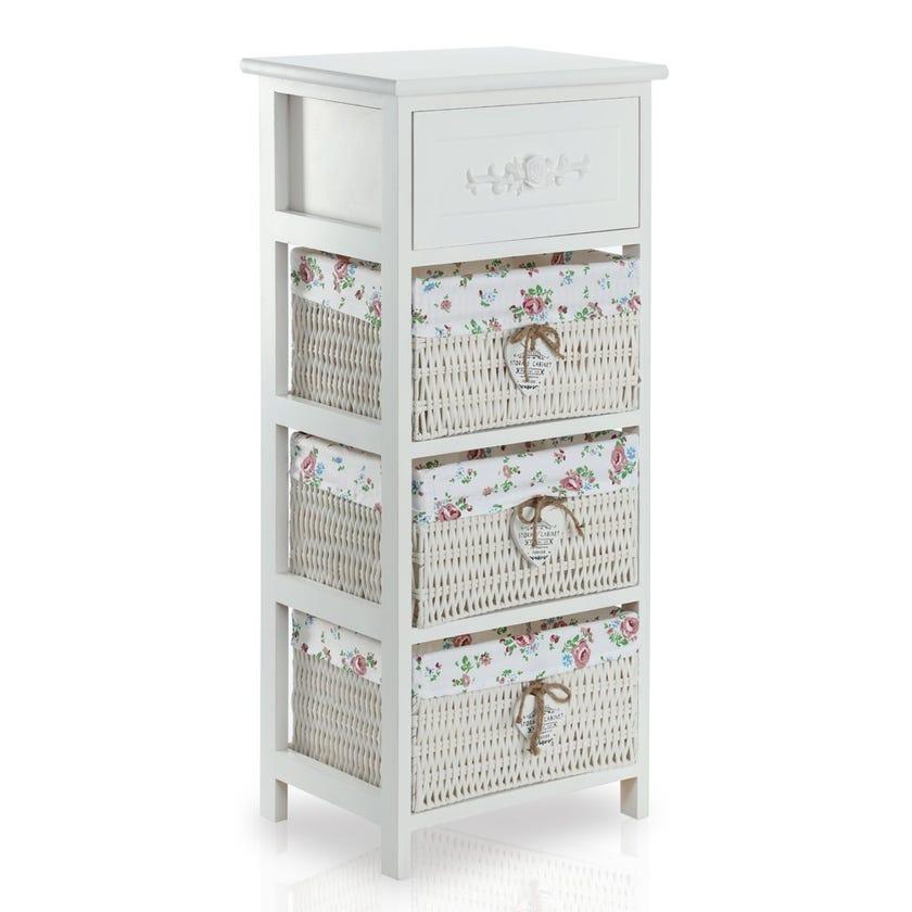 Rosea 4-Drawer Cabinet
