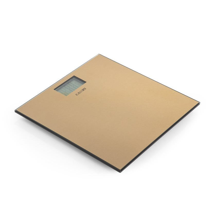 Camry Electronic Personal Scale - Gold, Stainless Steel