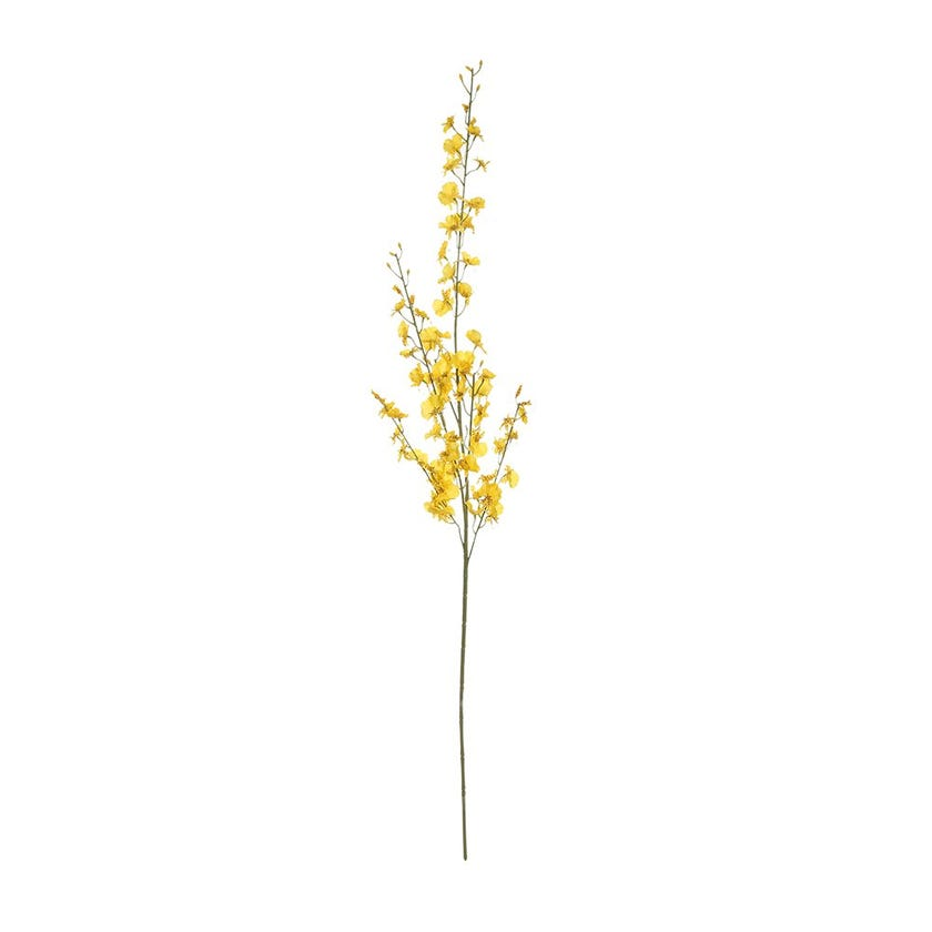 Dancing Orchid Spray, Yellow – 104 cms