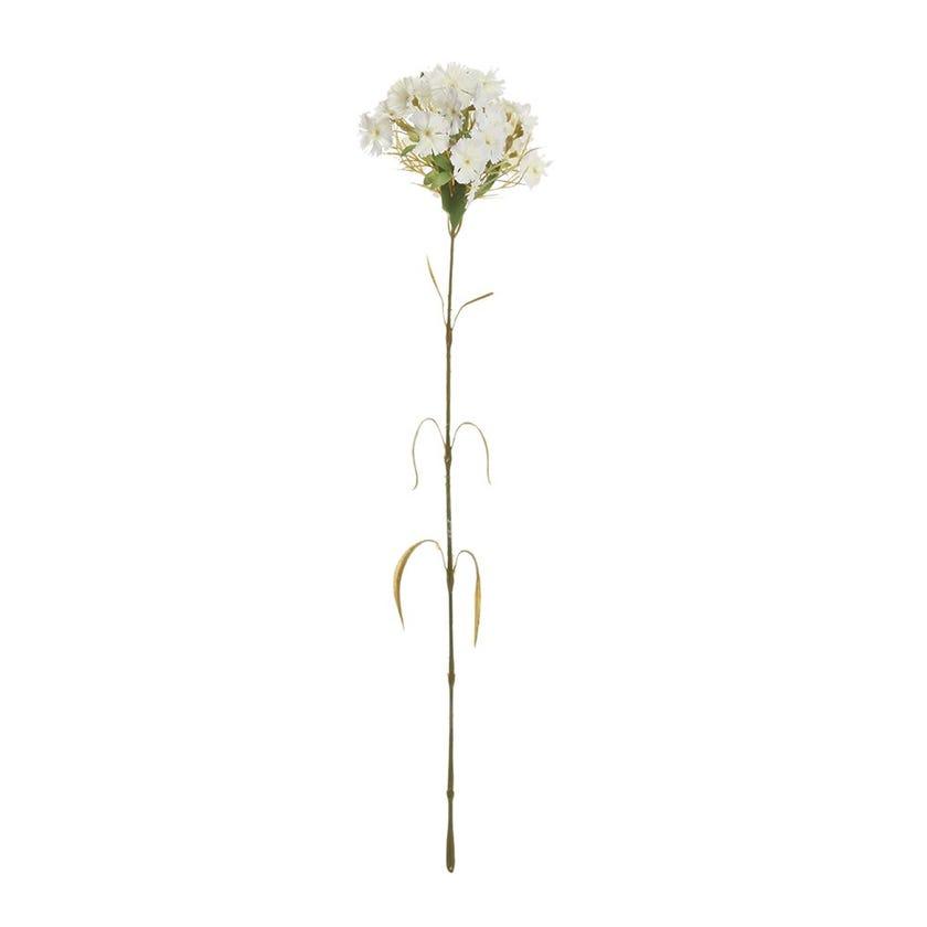Artificial Dianthus Spray, Cream – 52 cms