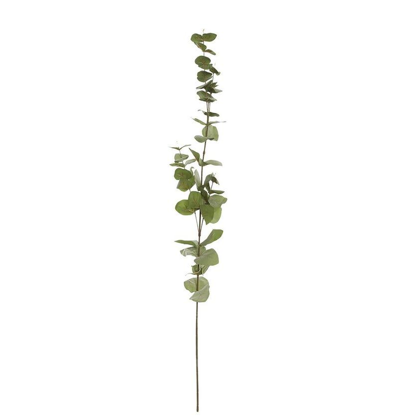 Eucalyptus Artificial Leaf, Moss Green - 88 cms