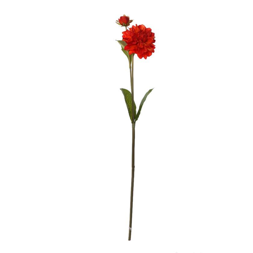 Faile Dahlia Spray, Flame Red – 55 cms