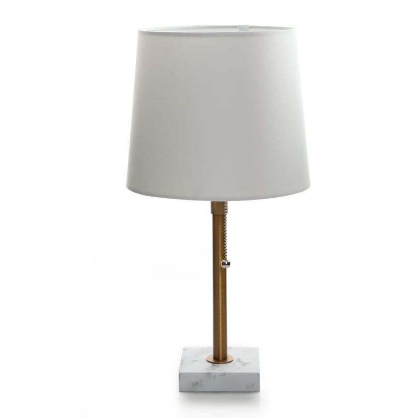 Metal Table Lamp, Brass – 45 cms