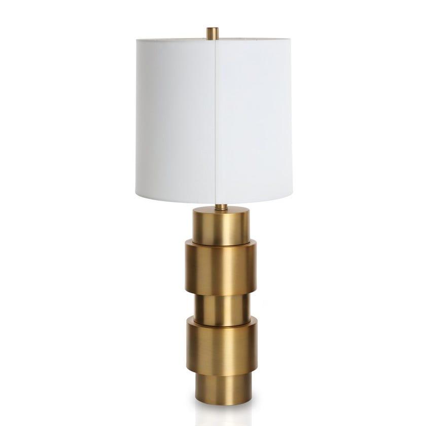Maryland Metal Desk Lamp, Gold - 76 cms