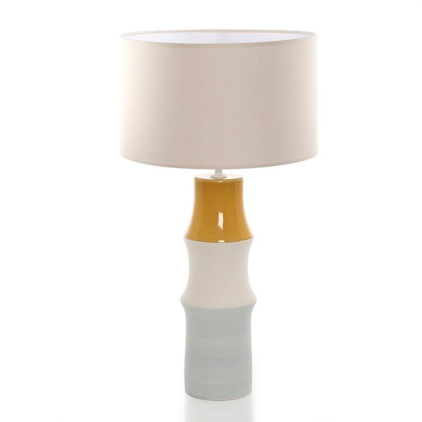 Levine Earthenware Table Lamp, Multicolour