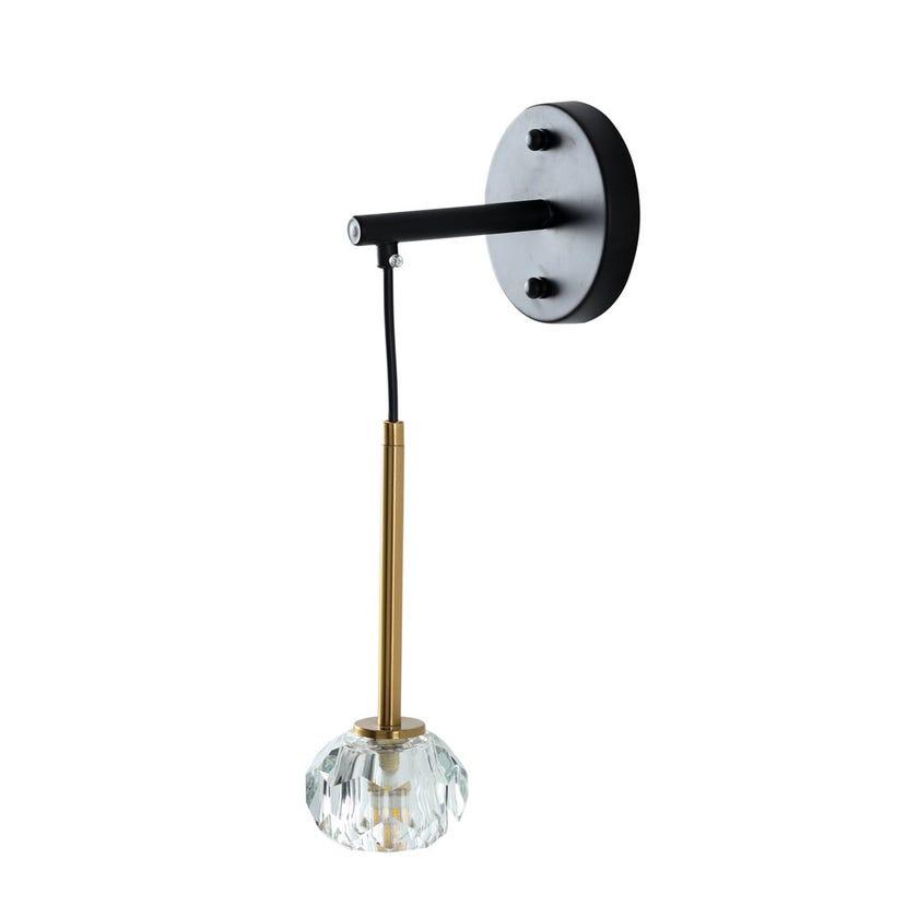 Lipsy Metal Wall Lamp - 18 x 22 cms