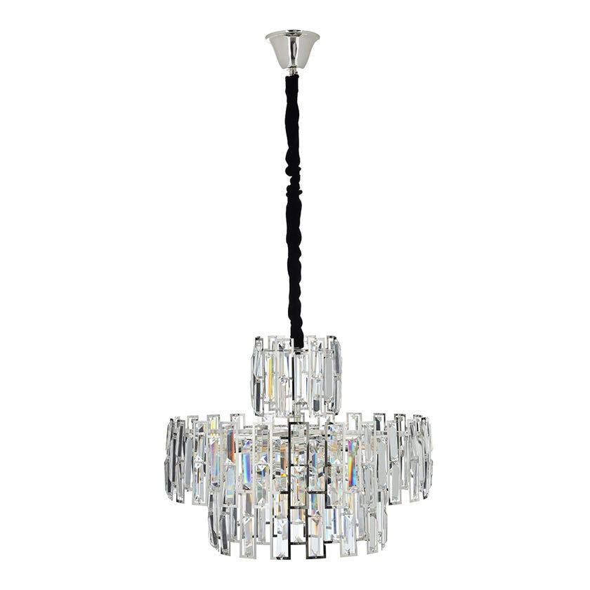 Ashley Crystal Pendant Lamp - 56 x 43 cms