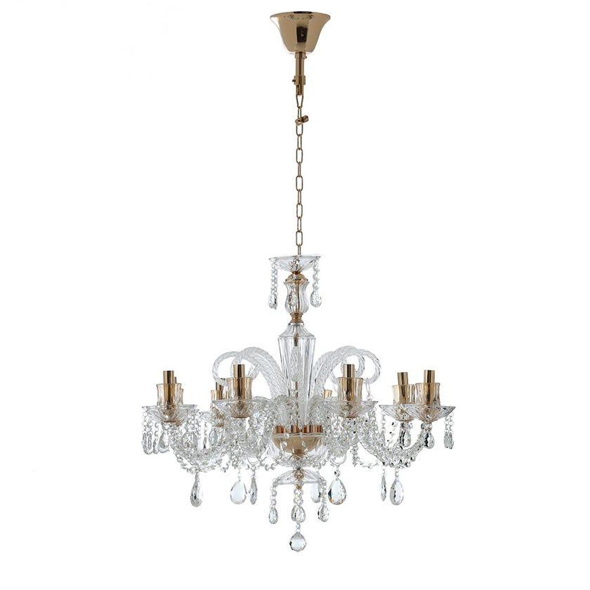 Madiha Glass Pendant Lamp - 75 x 65 cms