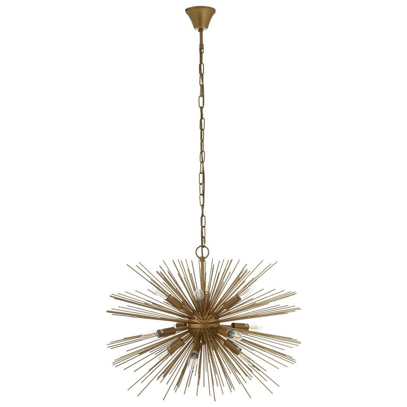 Tolendo Pendant Lamp, Gold – 75x54 cms