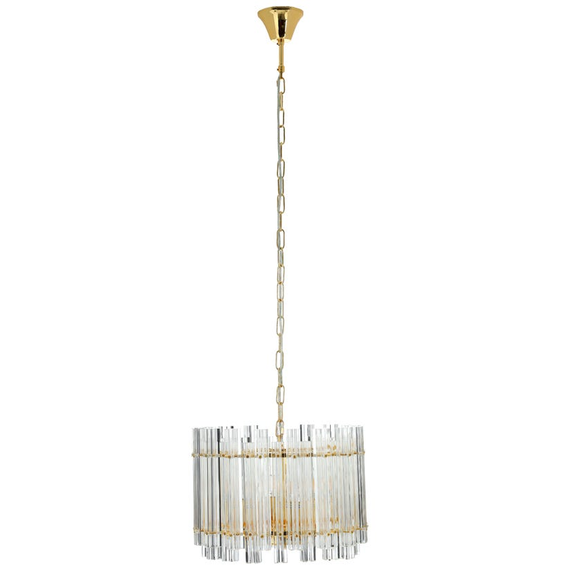 Valencia Pendant Lamp, Gold – 40x29 cms