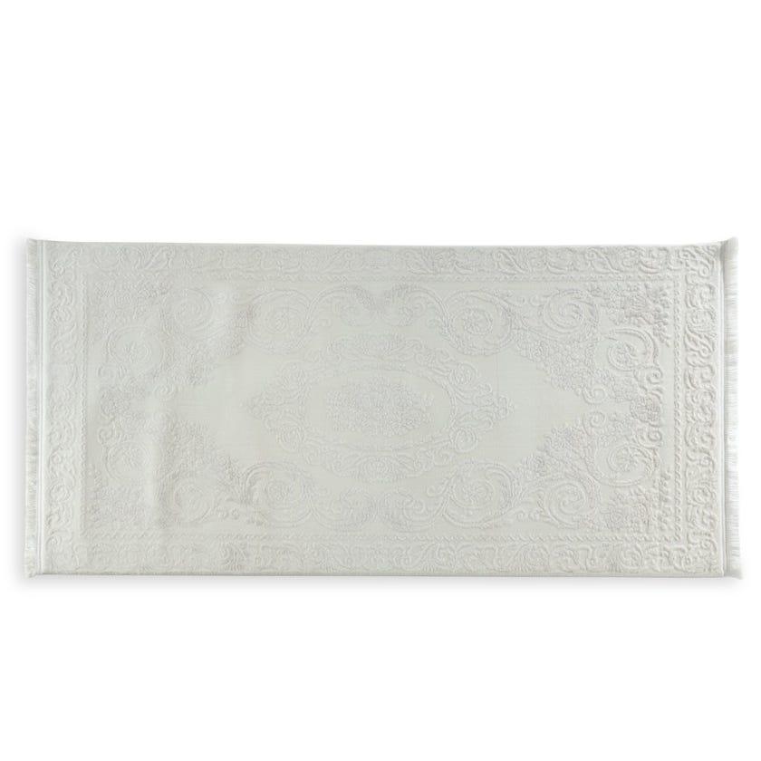 Taboo Bone Rug, Cream – 80x150 cms