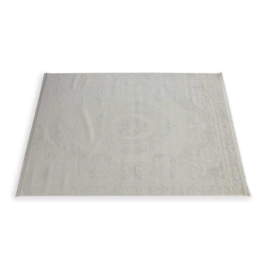 Taboo Beyaz Rectangular Rug, Cream – Medium, 160x230 cms