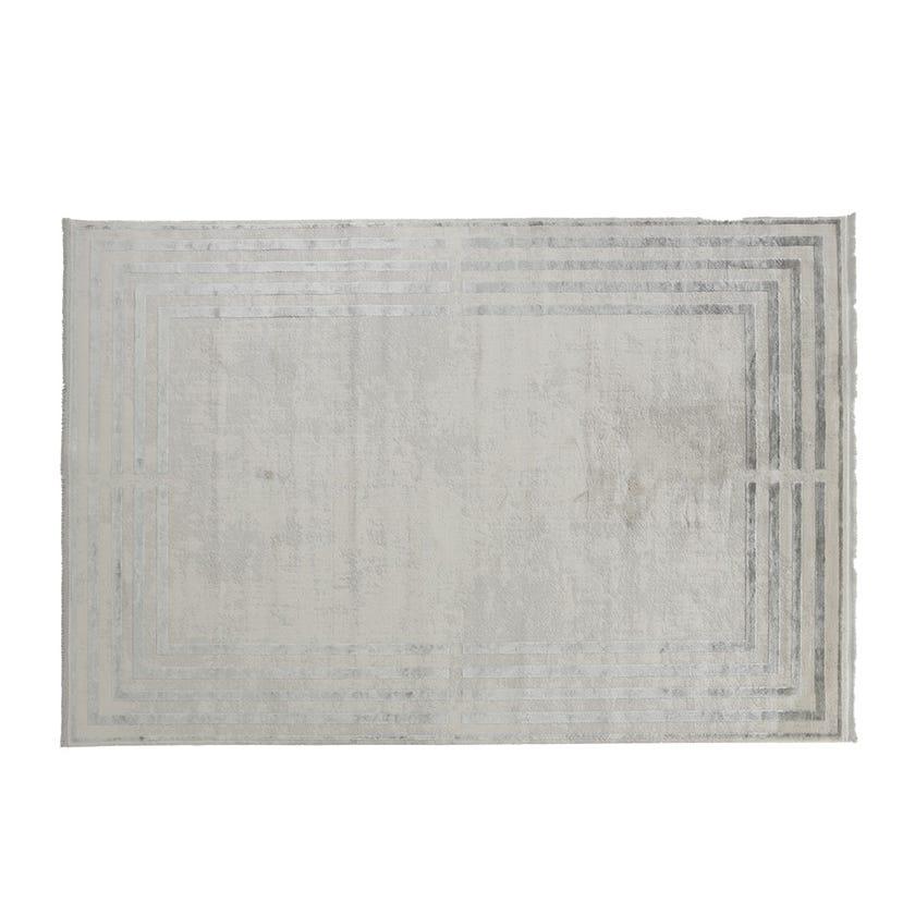 Taboo Bone Rectangular Rug, Slate Grey – Large, 200x290 cms