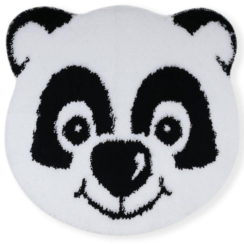 Panda Face Kids Bath Rug, Multicolour