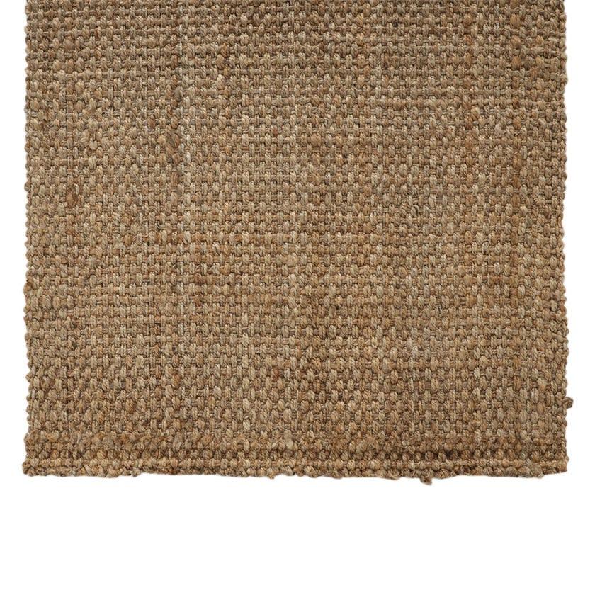 Jute Handspun Rectangle Rug Small (Natural, Jute, 120 x 180 cms)