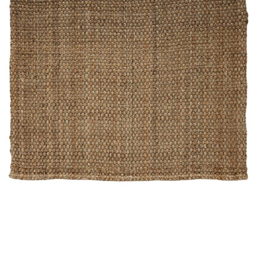 Jute Handspun Rectangle Rug Medium (Natural, Jute, 160 x 230 cms)