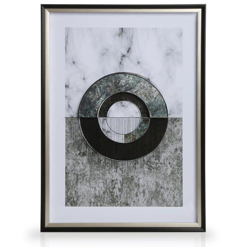 Carrie Printed Framed Art (50 x 70 cms, Multicolour)