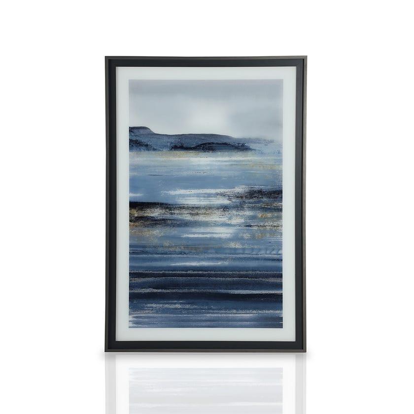 Sunset Printed Framed Art (82.2 x 121.6 cms, Multicolour)