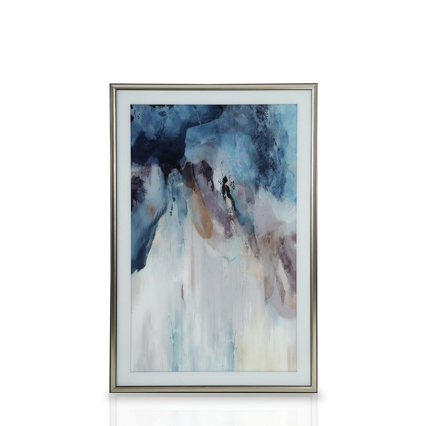 Rakhene Printed Framed Art (80.4 x 120.4 cms, Multicolour)