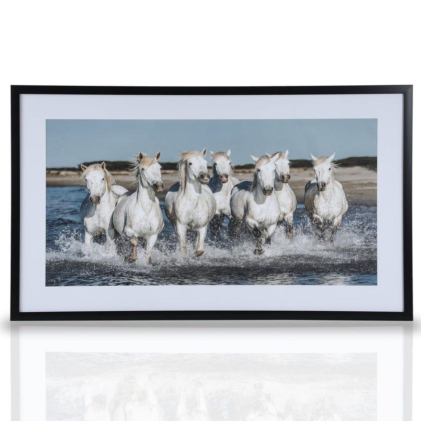 Skyguard Horse Framed Art, Multicolour