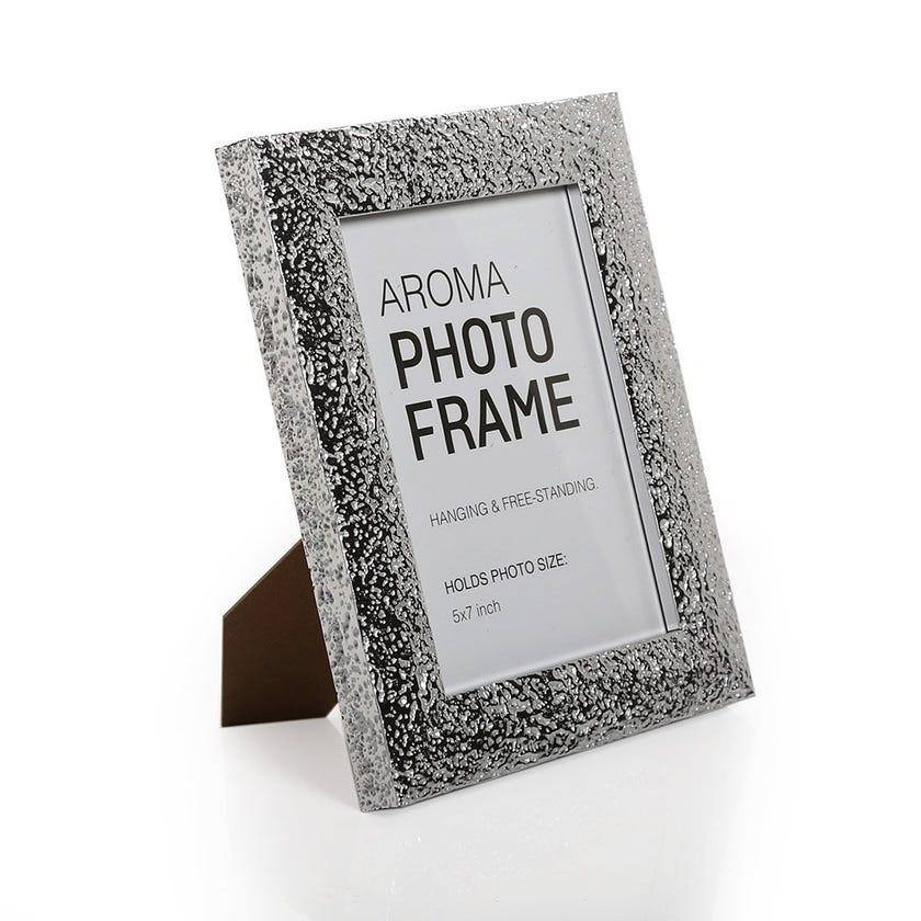Aroma Photo Frame, Silver – 5x7