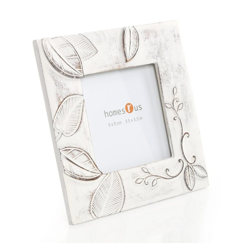 Leaves Square Photo Frame - 3.5 x 3.5 inches