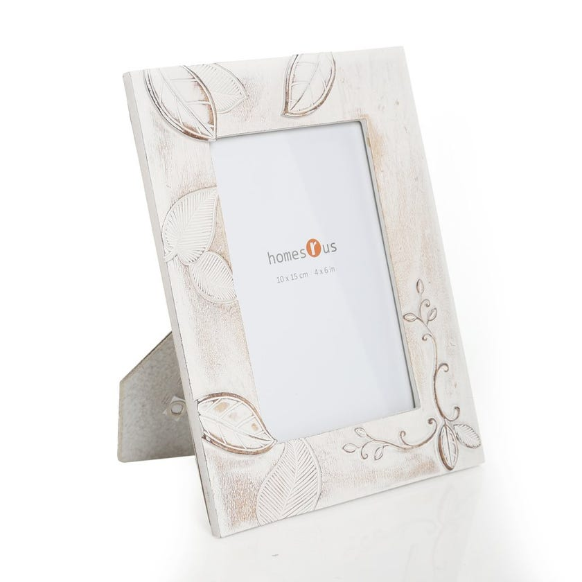 Leaves Rectangular Photo Frame - 4 x 6 inches