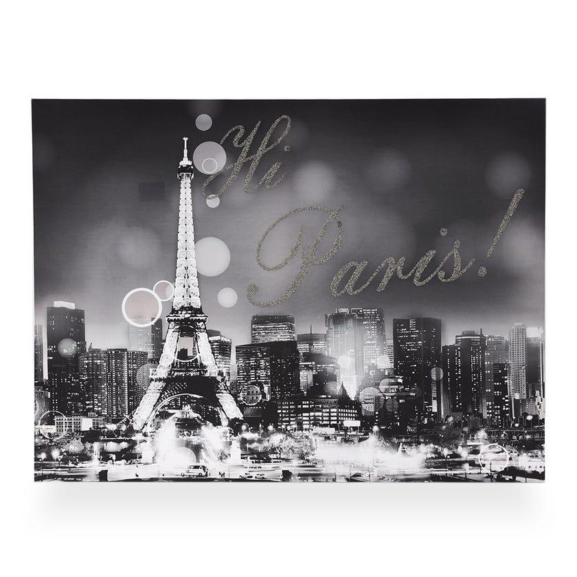 Hi-Paris Printed Canvas (60 x 60 cms, Multicolour)