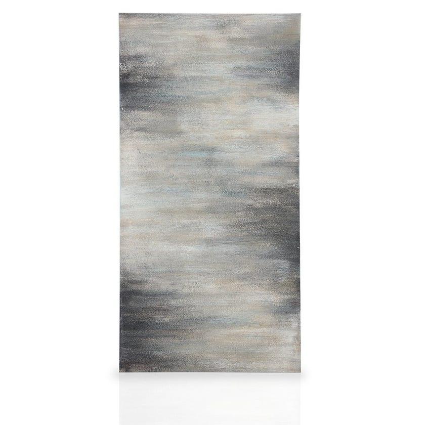 Hazy Sky Abstract Framed Art, Multicolour – 60x30 cms