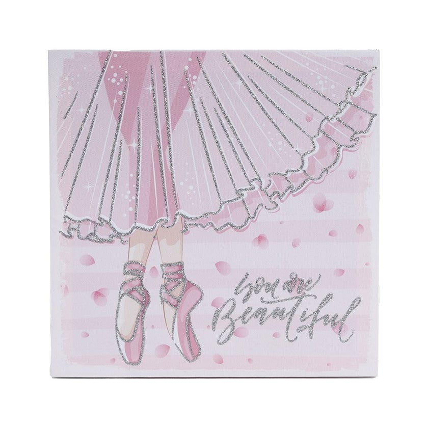 Ballerina Wall Art, Multicolour