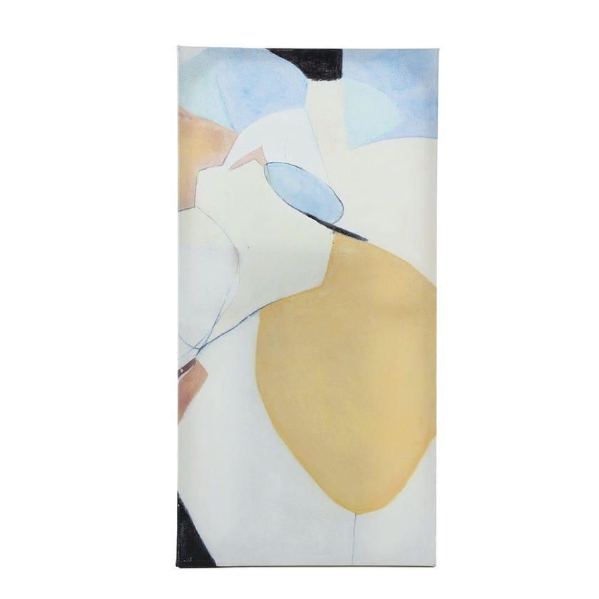 Abstract Canvas Art, Multicolour - 80x40 cms