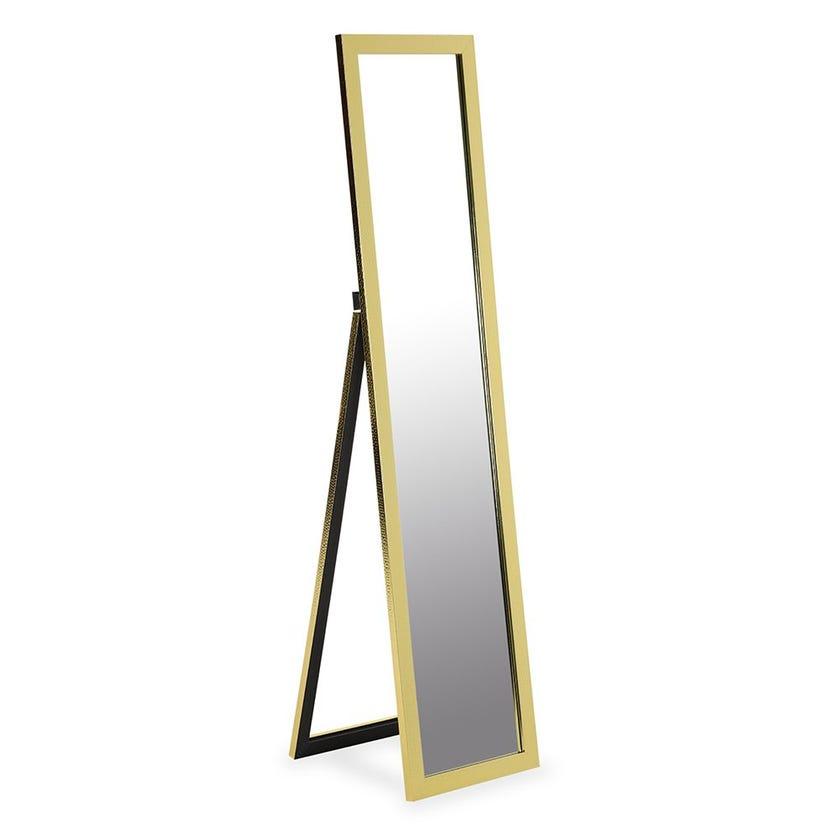 Floor Standing Mirror, Gold