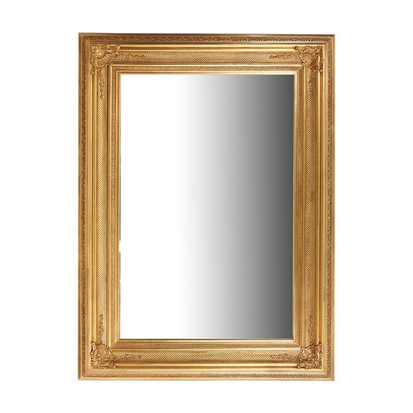 Farah Floor Mirror, Gold