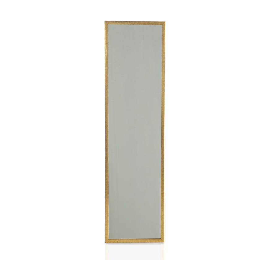Over The Door Mirror (Brushed Gold - 34 X 126 cms)