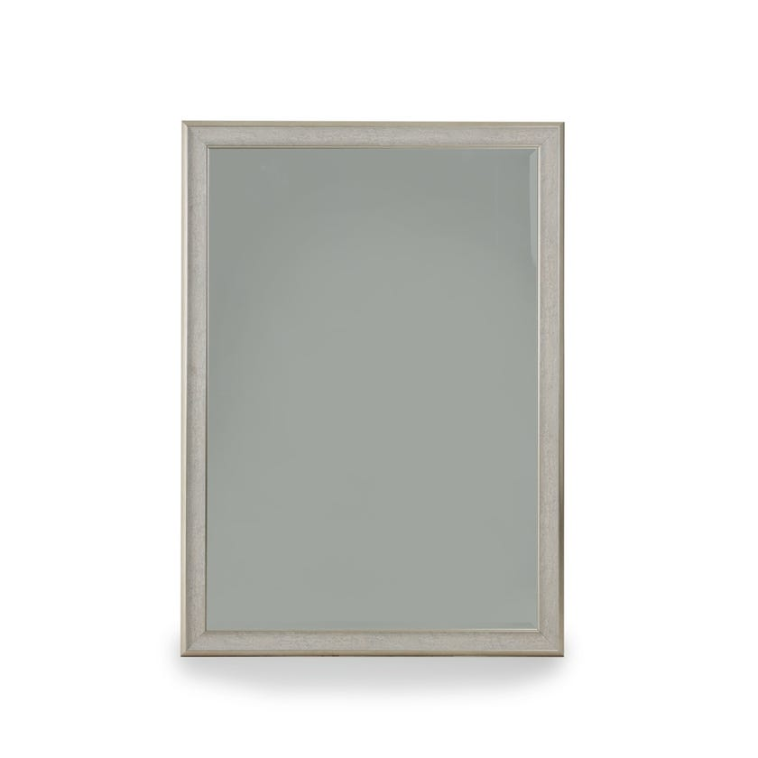 Elton Bevelled Wall Mirror  (Silver  - 104 X 144 cms)