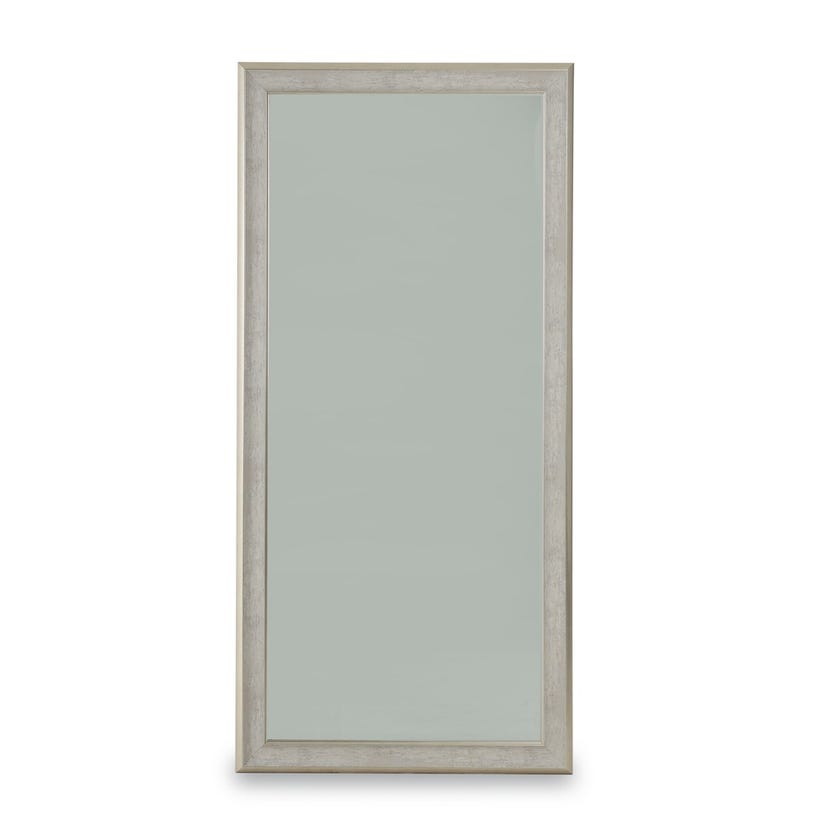 Elton Bevelled Wall & Floor Mirror  (Silver  - 94 X 194 cms)