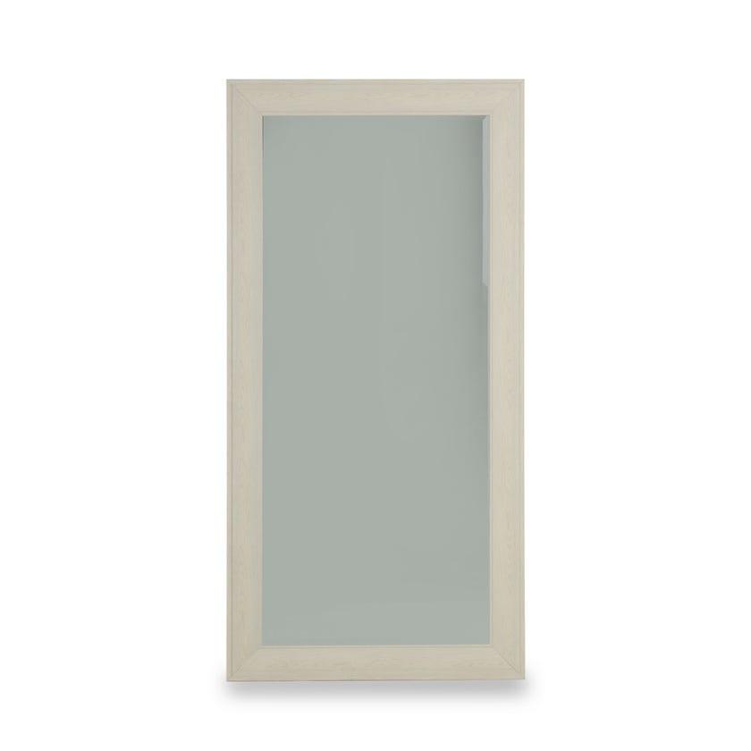 Rhode Bevelled Wall & Floor Mirror (Light wood - 98 X 198 cms)