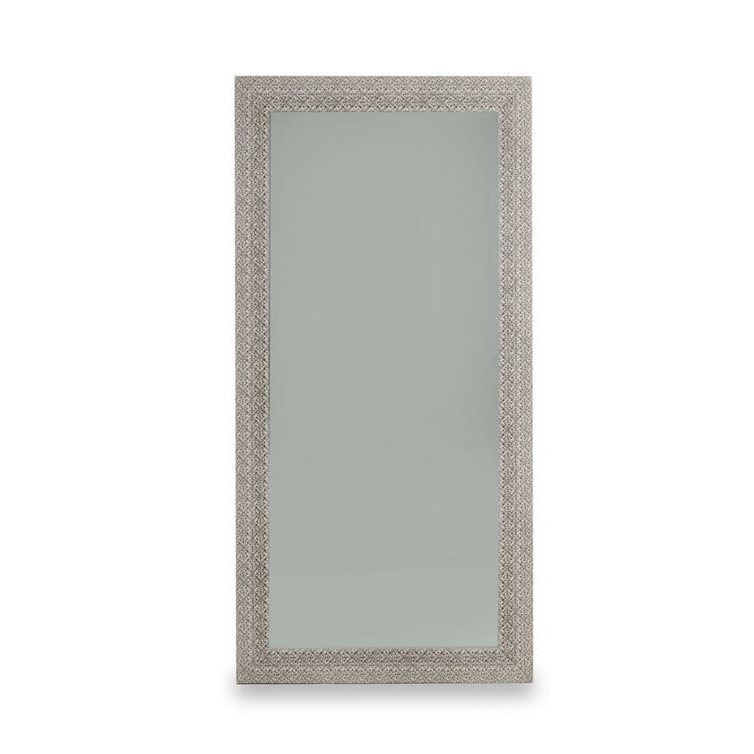 Cielo Bevelled Wall Mirror (Washed Brown - 98 X 198 cms)