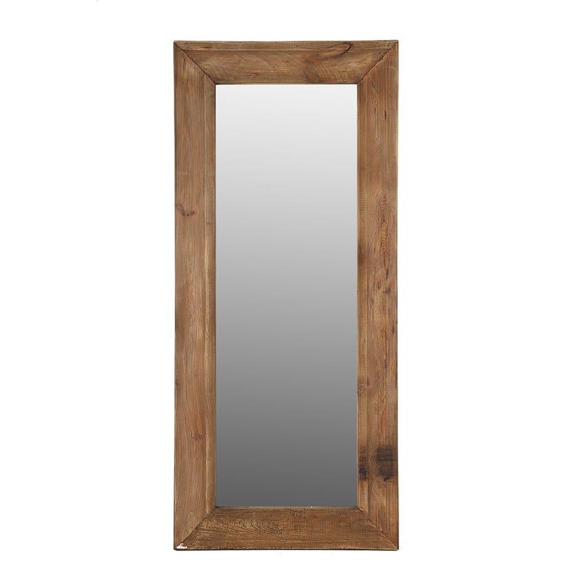 Rayyan Wall Mirror, Natural - 180x80 cms