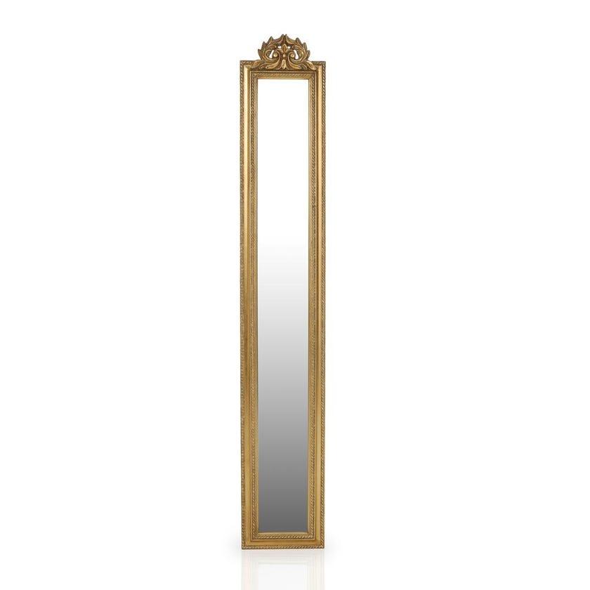Ercoland Wall Décor Mirror (Gold - 20 x 122.5 cms)