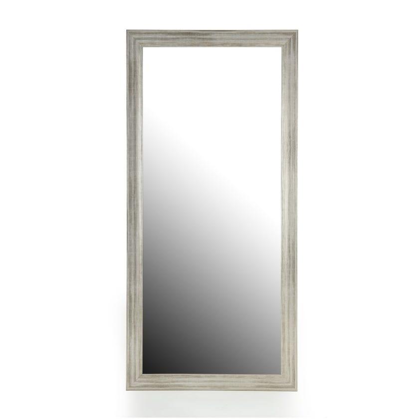 Vapor Floor Mirror, Silver