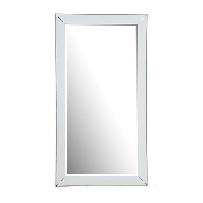 Winter White Mirror, White - 80x180 cms