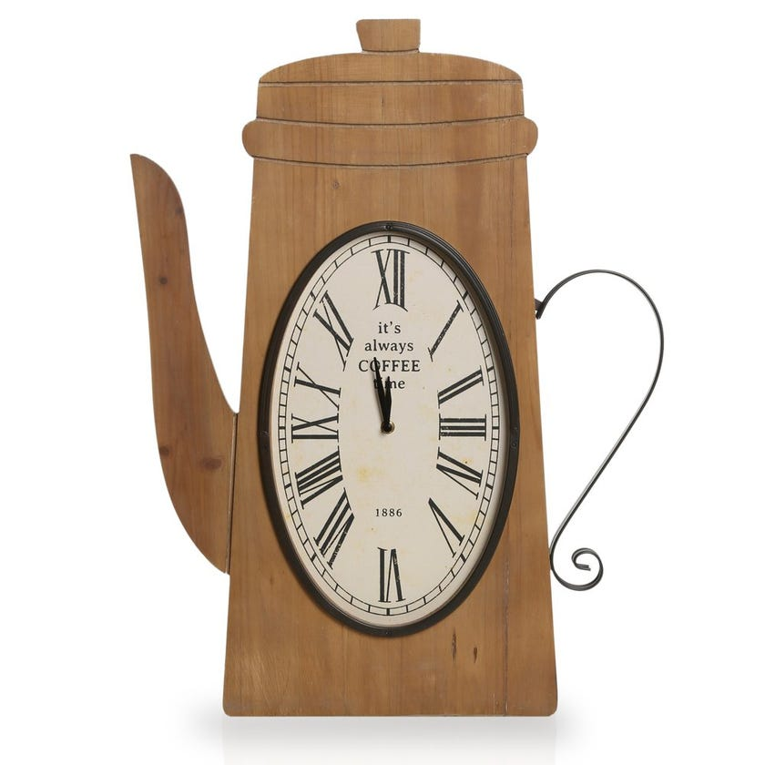 Kettle Hanging Clock – 67.5 x 51 cms